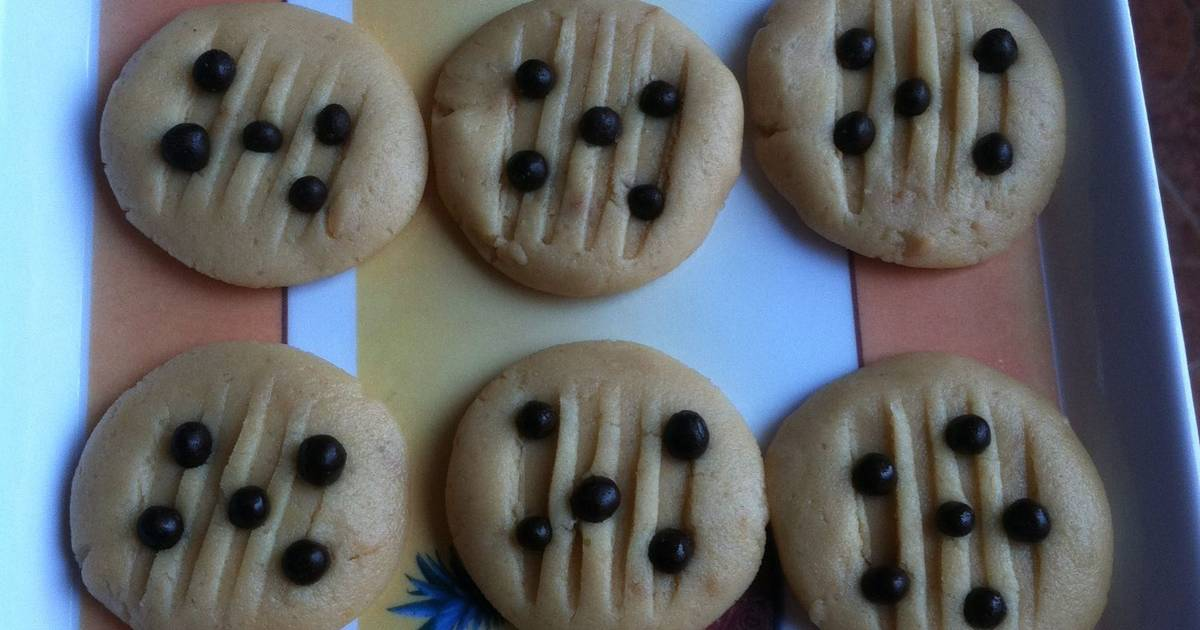 Resep Peanut Butter Cookies