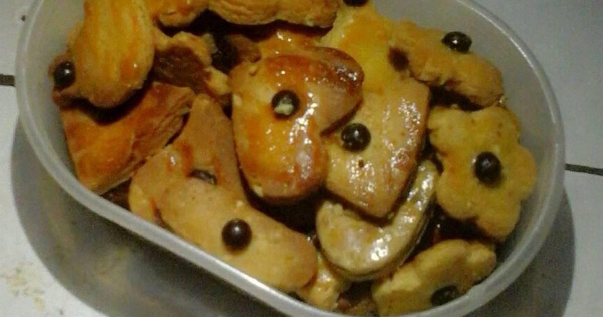 Resep kue kering dasar dengan kacang