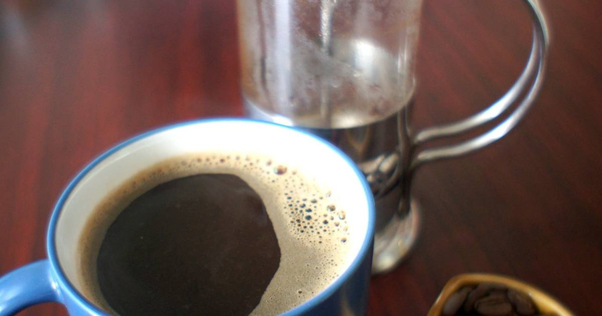 Resep French Press Coffee