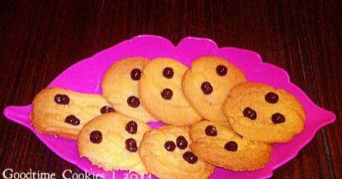 Resep Goodtime Cookies (Tanpa Telur)