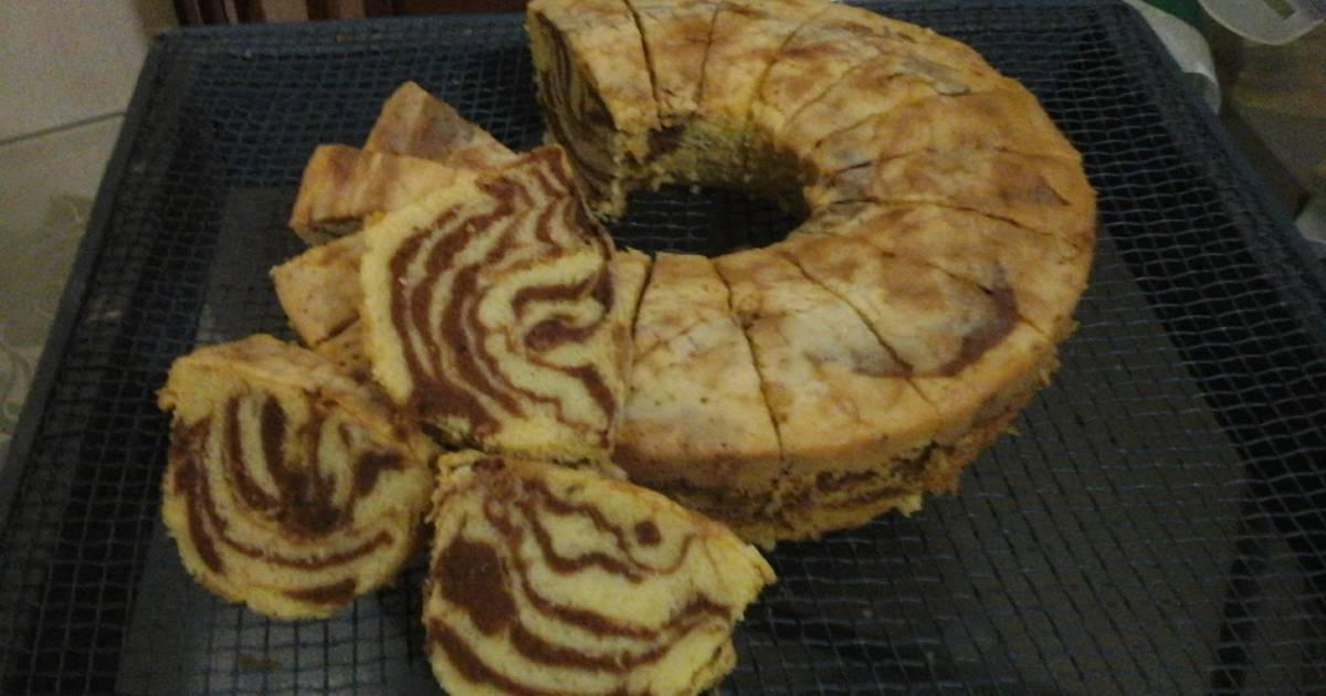 Resep marmer cake tulban