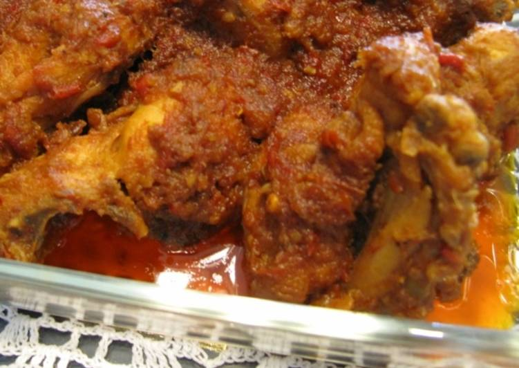 Ayam Goreng Bumbu Rujak