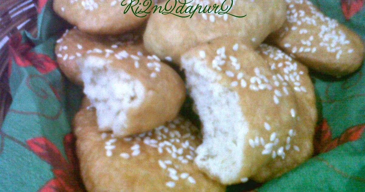 Resep Kue Bantal Ncc: Resep Odading (bolang-baling Atau Roti Bantal) Oleh