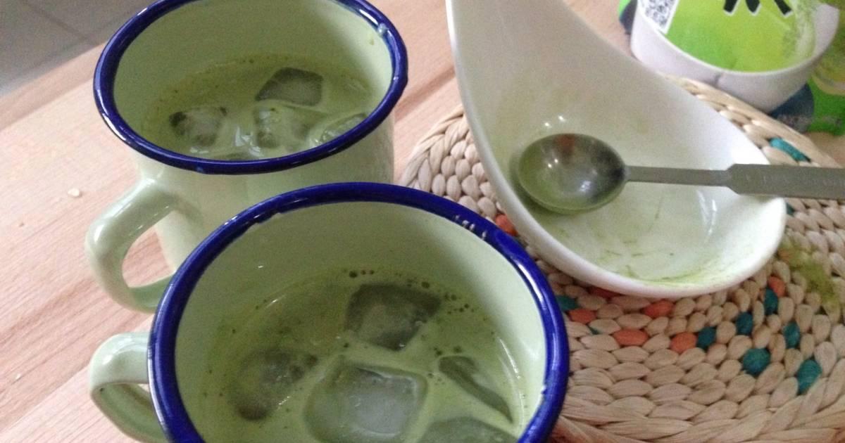 Resep Iced Soya Green Tea