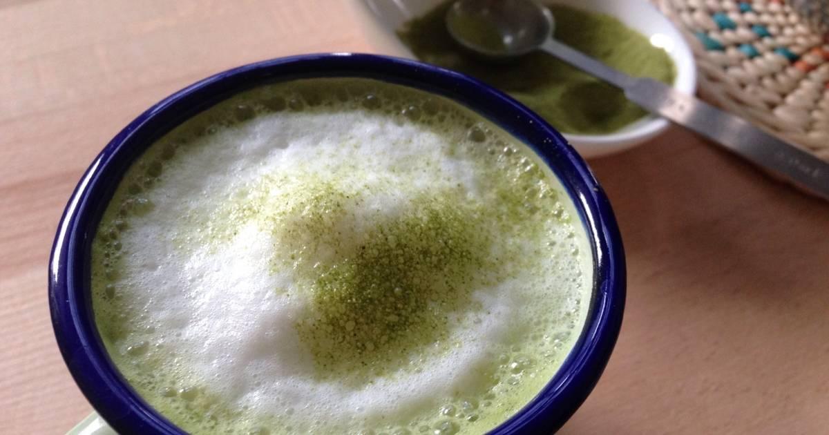 Resep Homemade Matcha Green Tea Latte