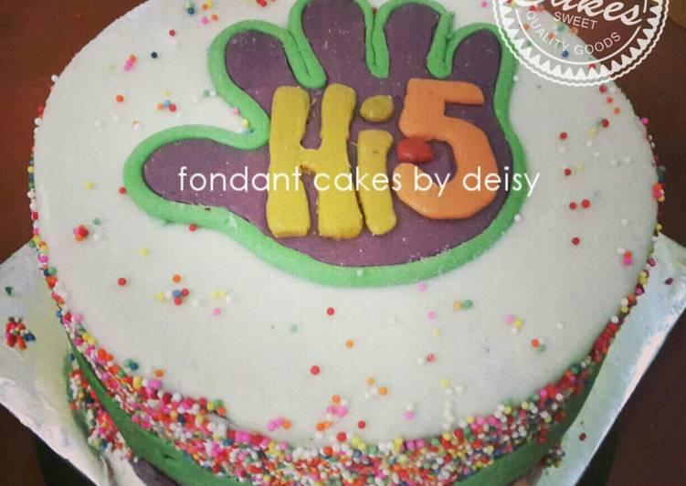 Fondant Cake Adalah