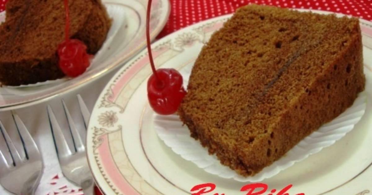 Resep Bolu Jadul Ny Liem: Resep Brownies Kukus Cappucino Ny. Liem Oleh Rika Heldina