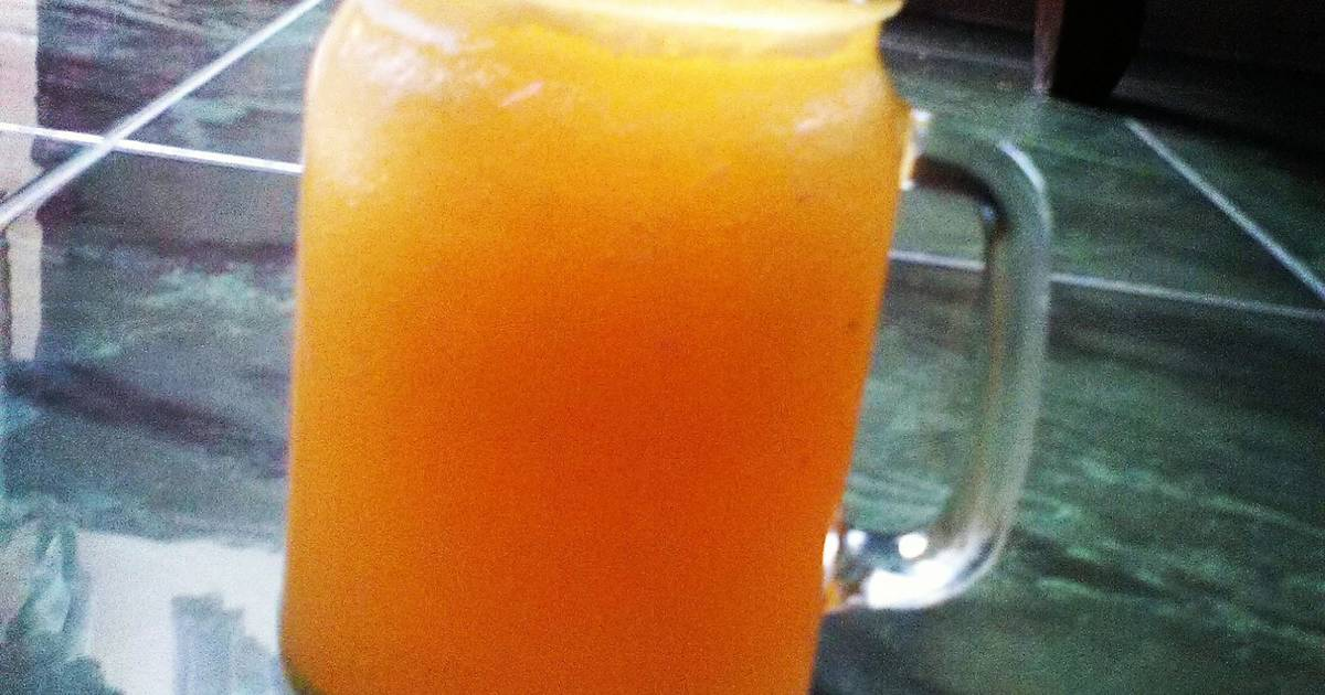 Resep Orange Juice In JAR