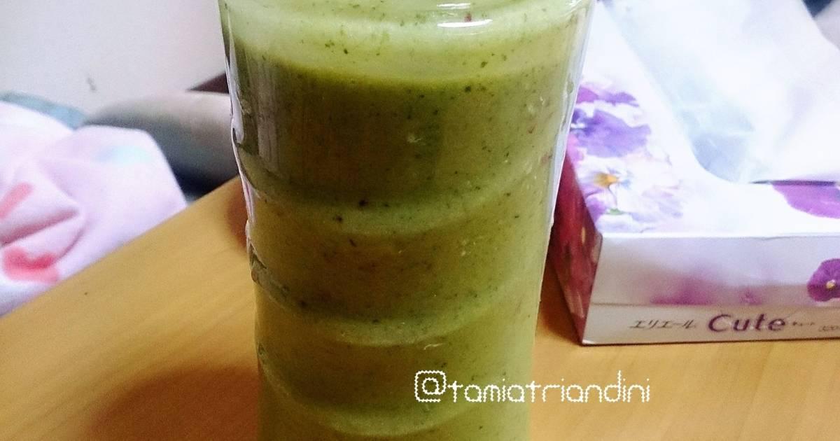 Resep Green Smoothie (Jus Sayur Buah)
