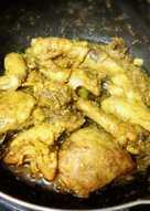 ayam kuning goreng bakar praktis