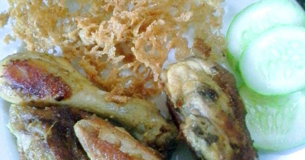Resep Ayam Panggang Kremes