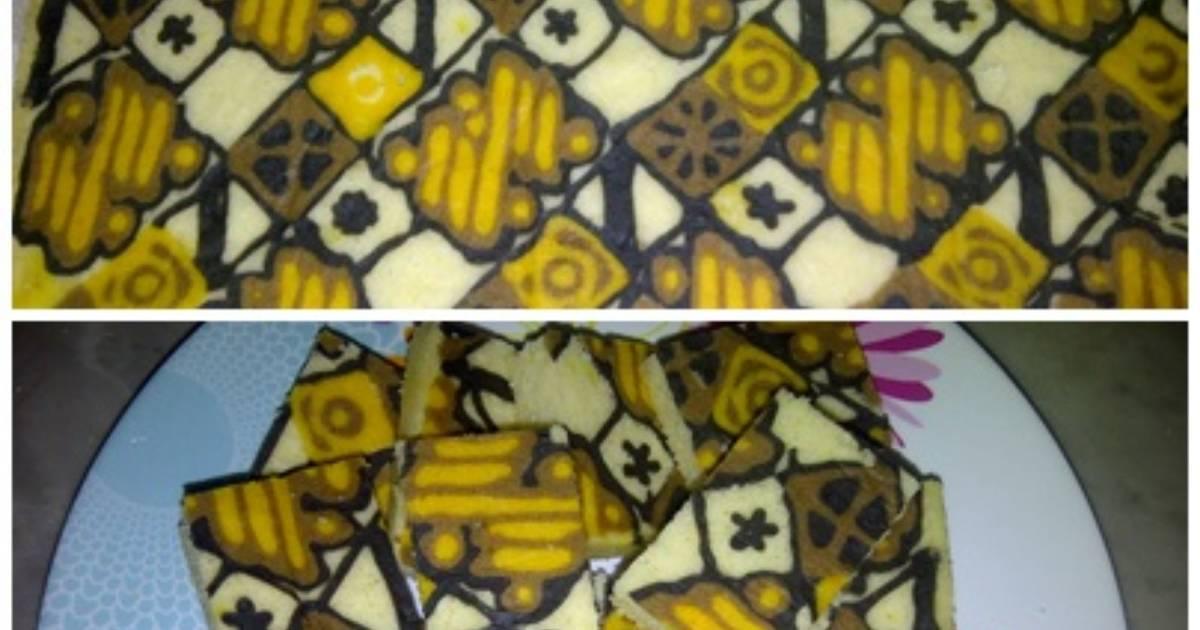 Resep Cake Batik Kukus: Resep Cake Batik Kukus Tanpa Mentega Oleh Siswaty Elfin