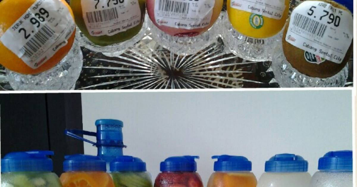 Resep Infused Water