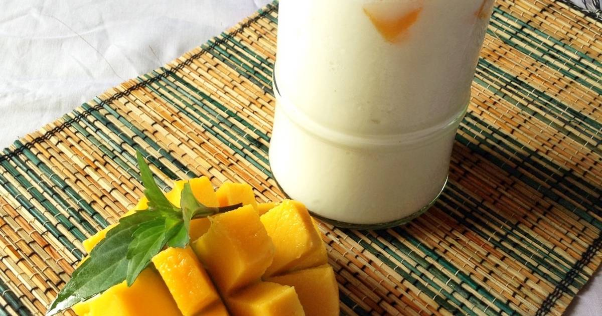 Resep Tropical smoothies with coconut milk ala chef Mumu
