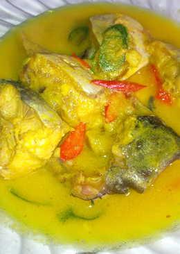 Ikan Patin bumbu kuning asem