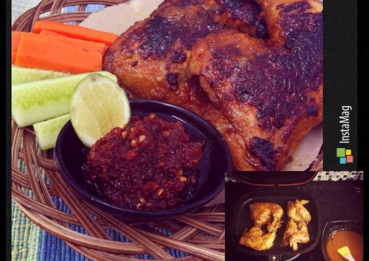 Resep Ayam Bakar Solo Pedas Manis oleh Ibu Malka Resep Ayam Bakar Solo Pedas Manis By Ibu Malka