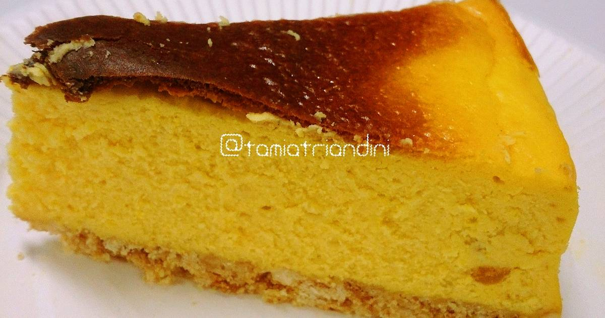 Resep Bolu Cheese Cake Jepang: Cheese Cake Jepang Oleh Queen