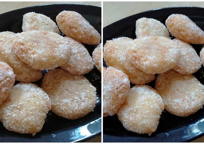 Resep Kue Bawang Jadul: Resep Kue Getas Ketan Dengan Gula Putih Oleh Siva Alesha
