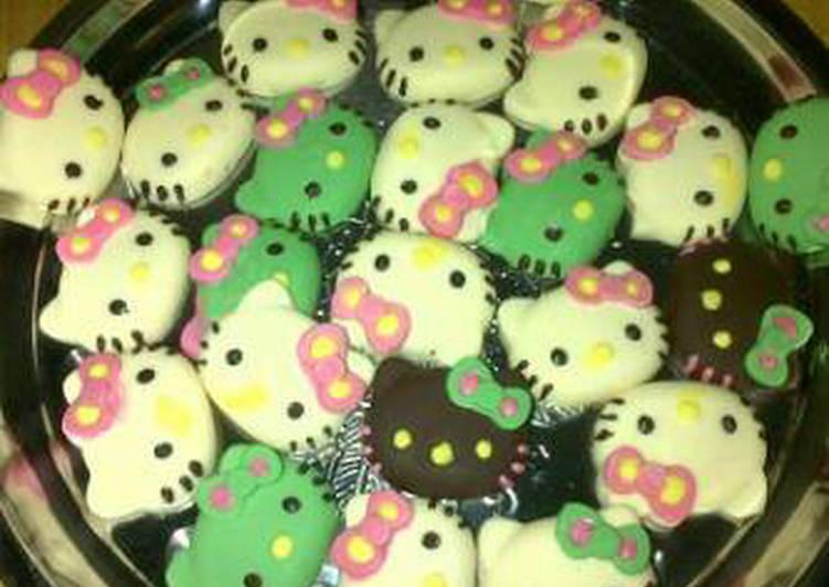 Resep Cookies Karakter Hello Kitty