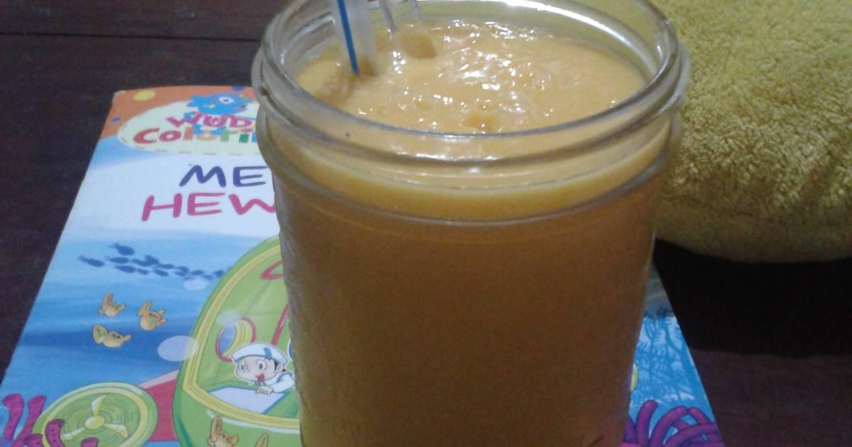 Resep mango smoothie