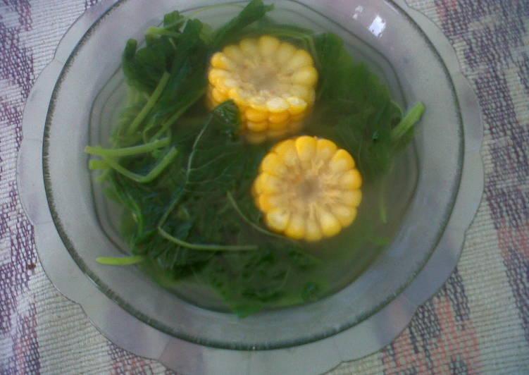 Sayur Bening Bayam Sederhana