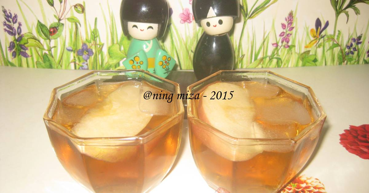 Resep Fresh Apple Tea