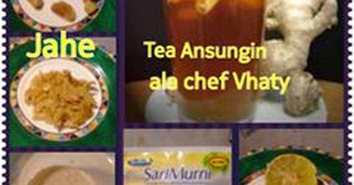 Resep Tea Ansungin ala chef Vhaty