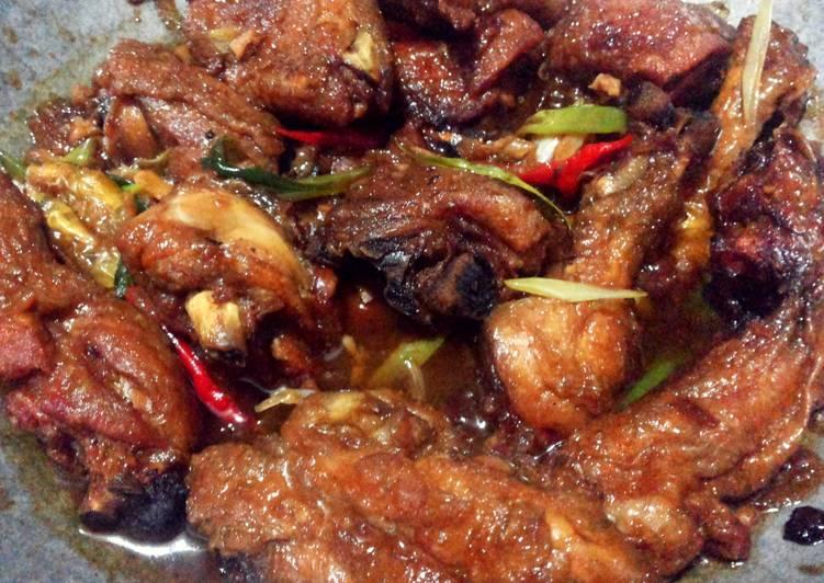 Ayam Goreng Mentega Bumbu Sederhana Seadanya