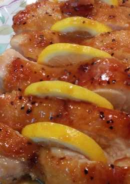 Chicken Teriyaki saus Honey Lemon
