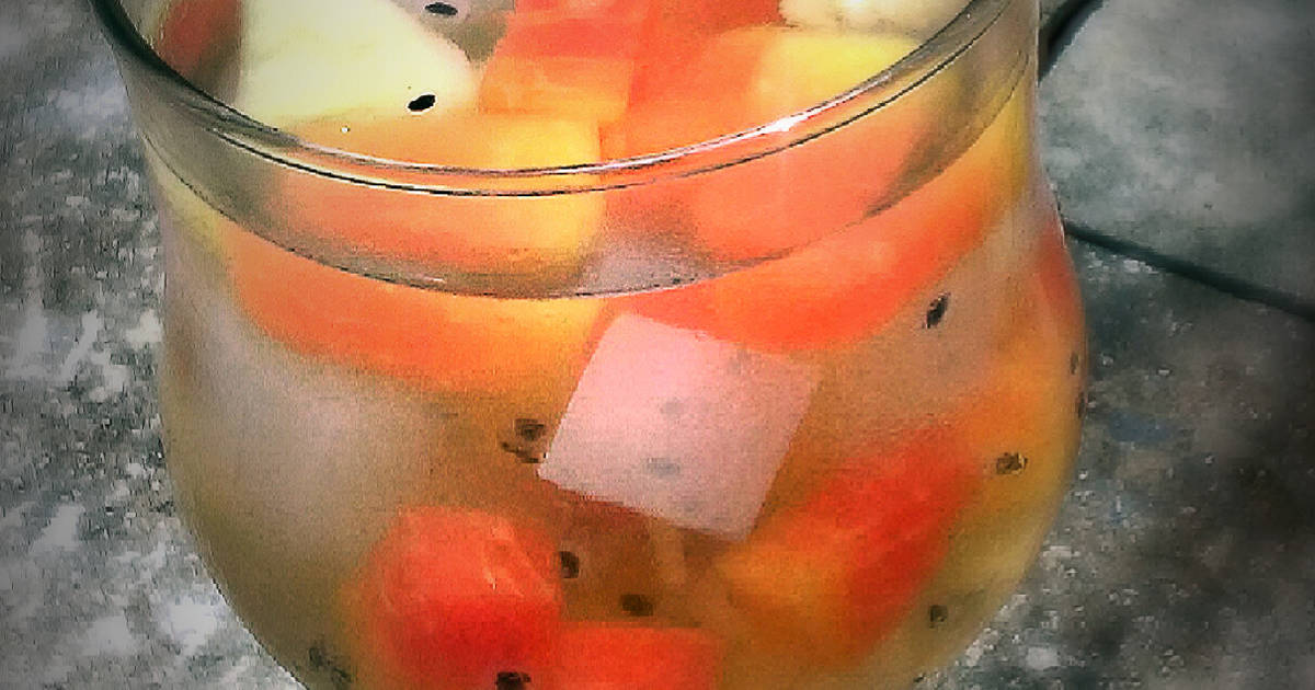 Resep Es Buah / Friut cocktail