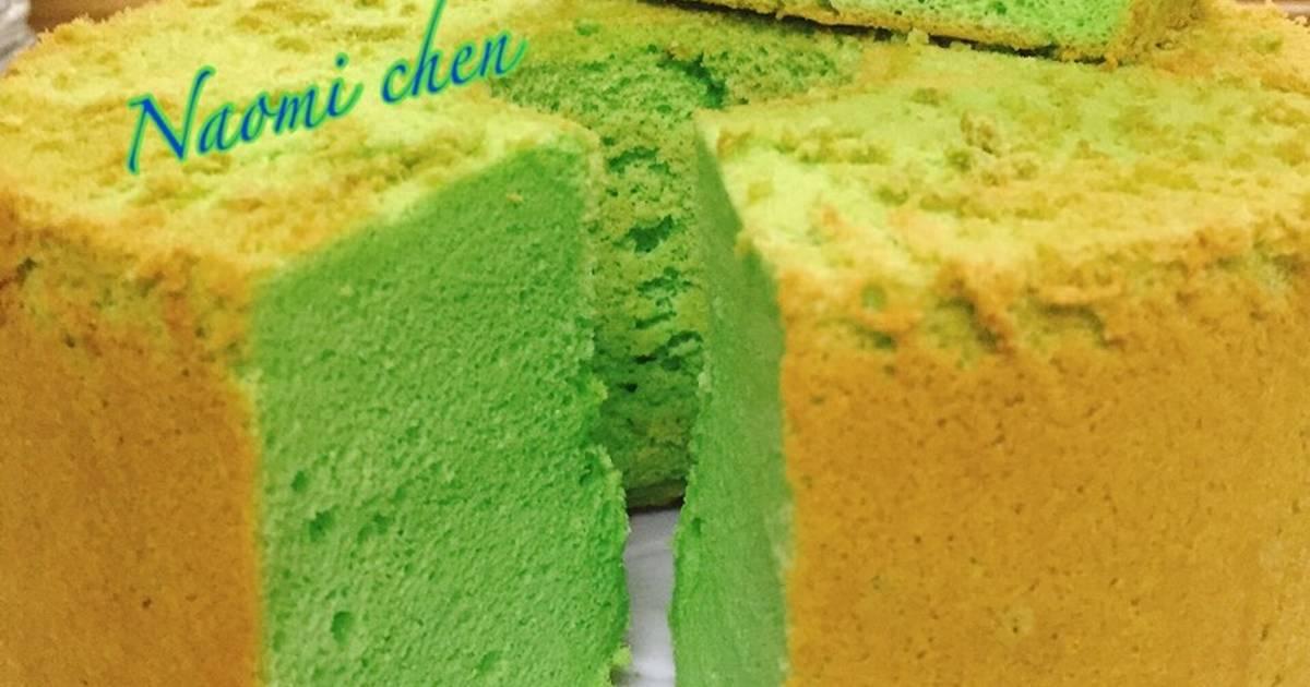 Resep Pandan chifon cake
