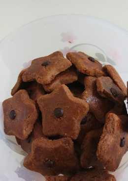 Butter cookies choco #kuekering