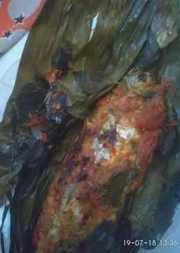 Pepes ikan kembung banjar