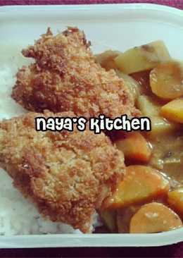 Nasi Curry + Chicken Katsu