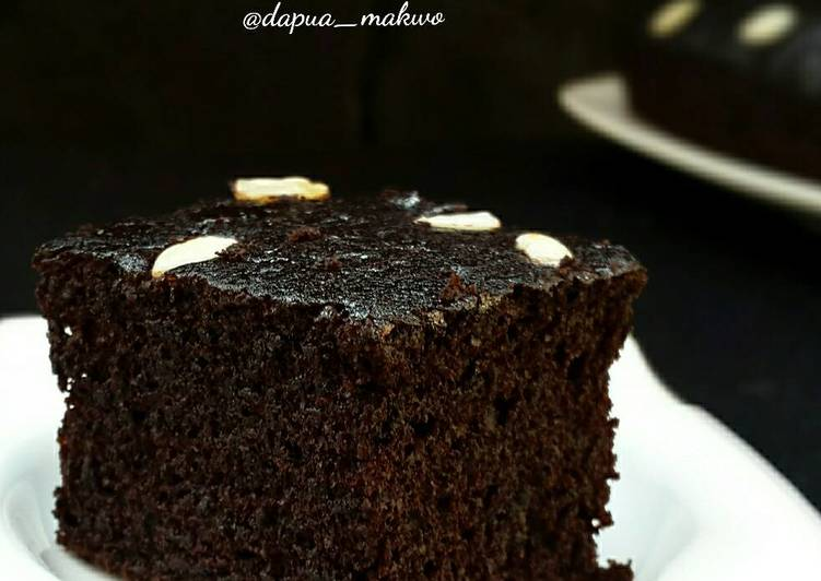 Eggless Chocolate Cake Source by chef Farah Quinn