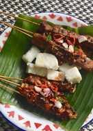 Sate Kere : Gembus dan Jamur (Vegetarian Friendly)