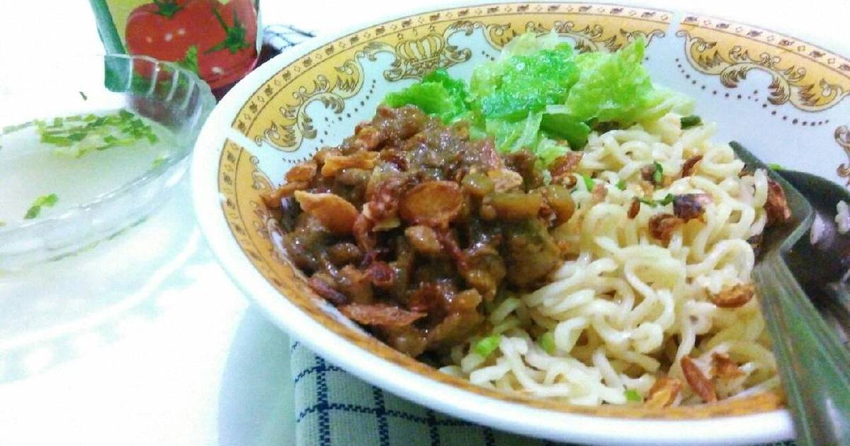 resep mie ayam rumahan homemade oleh zarra   cookpad