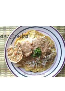 Tahu Gimbal ala saya (versi : gluten free) #pr-DibumbuKacangin
