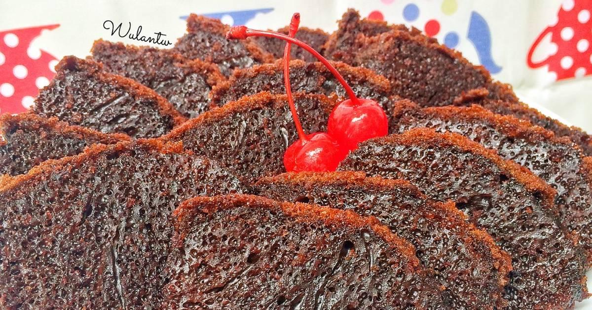 Resep Caramel Cake Sarang Semut