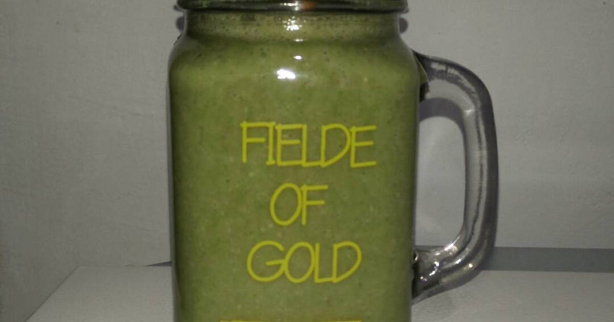 Resep Smoothie Banana Spinach