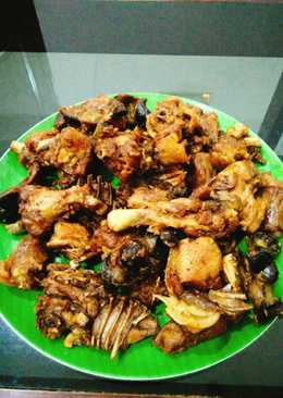 Bebek Peking goreng(bumbu ungkep)