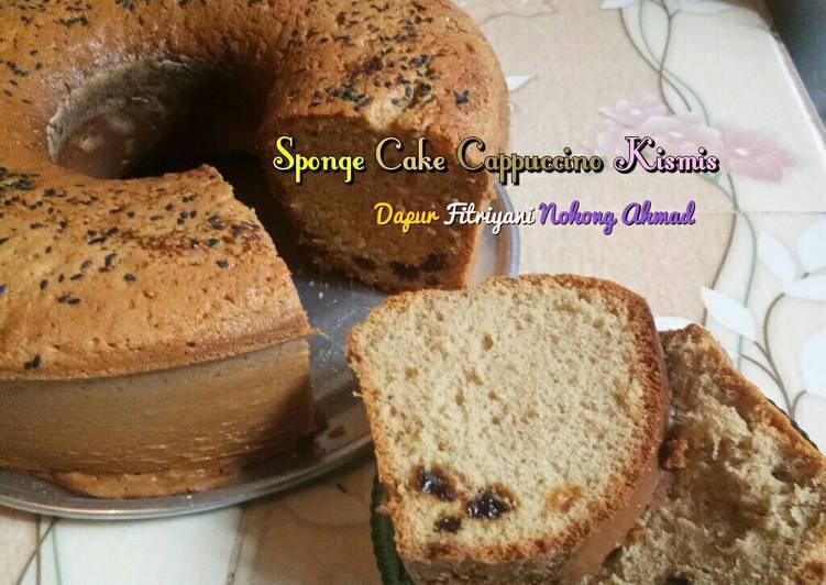 Resep ?? Sponge Cake Cappuccino Kismis ala Dapur Fitri ?? Oleh Dapur Fitri Simple Cooking