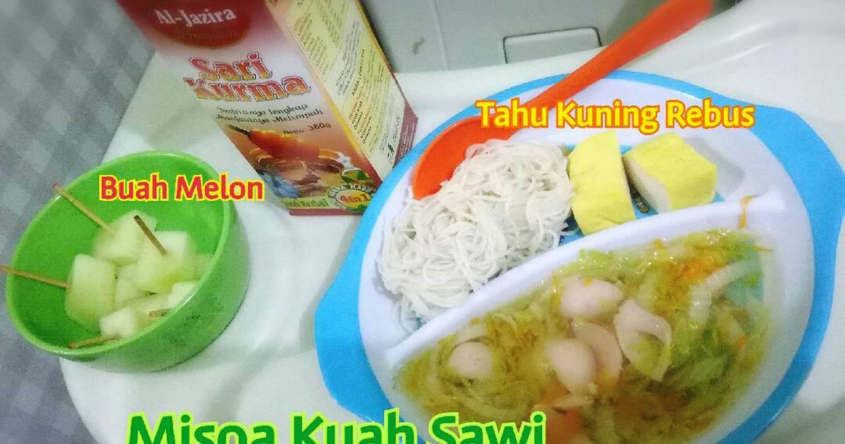 Resep Misoa Kuah Sawi Menu Anak Sakit Tipes Oleh  F F C Bbniabundaalif Blogspot Com Cookpad