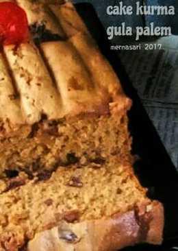 Cake kurma madu gula palem