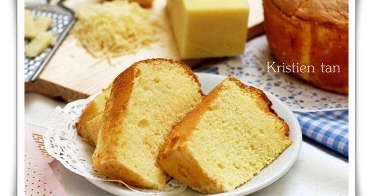 Resep Cream Cheese Chiffon Cake - enak,rich ;)