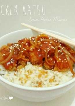 Chicken Katsu Saus Pedas Manis
