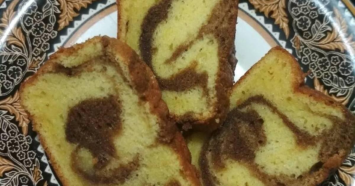 Resep Cake Jadul Sederhana: 902 Resep Cake Marmer Lembut Enak Dan Sederhana