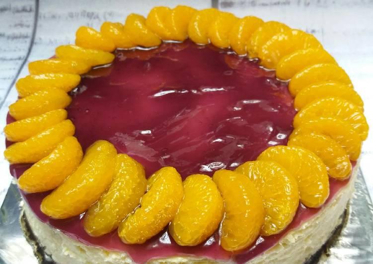 Resep Cake Berhantu Ncc: Resep Blueberry Cheese Cake NCC (baked) Oleh Kudiels