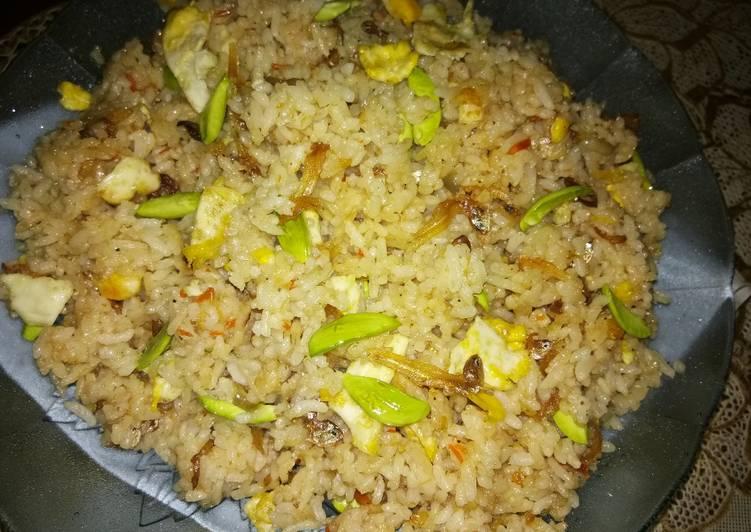 gambar untuk resep Nasi goreng pete (bumbu uleg)