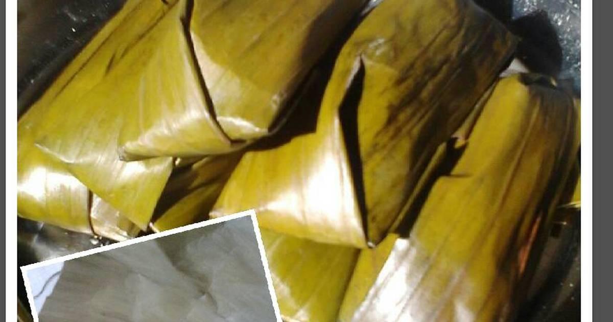 Resep Nagasari (lapek tepung beras)